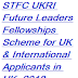 STFC UKRI Future Leaders Fellowships Scheme In UK, 2018