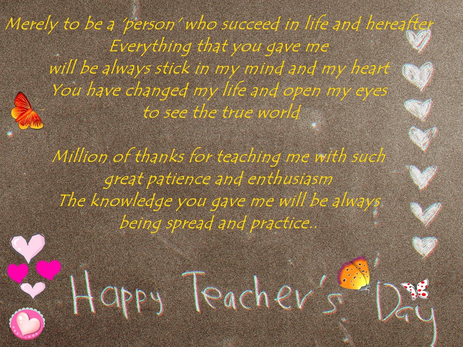 wow kad hari guru yang menarik dan kreatif