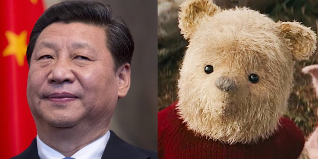 Xi Jinping,Christopher Robin, Winnie The Pooh