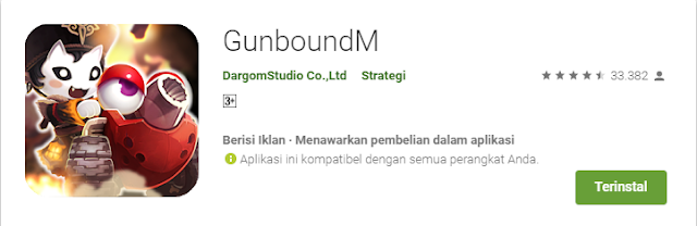 Game Strategi Android Terbaik GunboundM