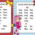 NEW CVC Words for REMEDIAL and Beginning Reading