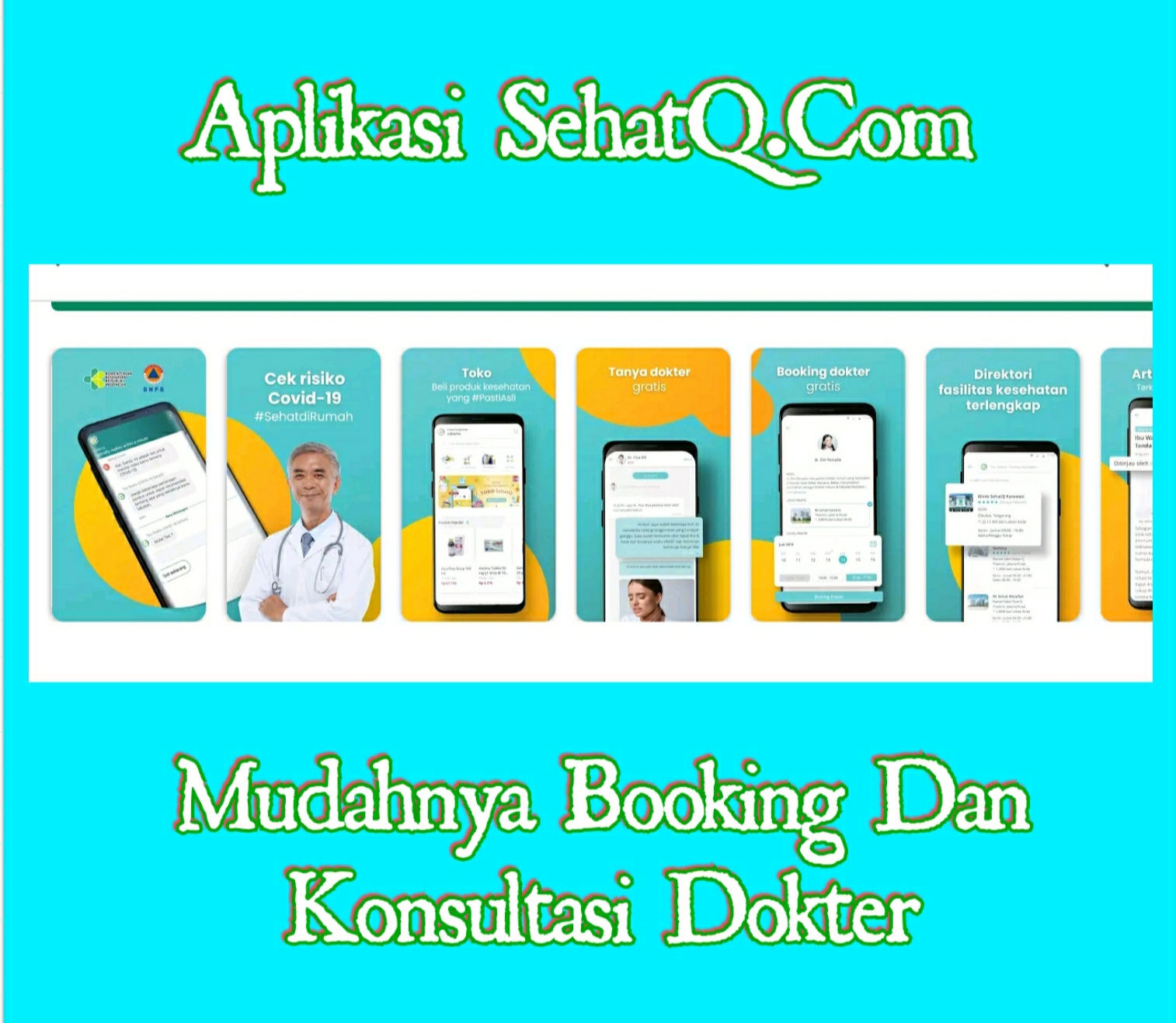 Mudahnya dengan aplikasi sehatq.com