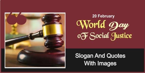 World Day of Social Justice Quotes Hindi