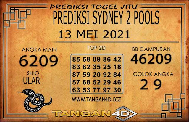 PREDIKSI TOGEL SYDNEY2 TANGAN4D 13 MEI 2021