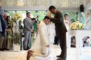 Kumpulan Foto Pernikahan Putri Marino dan Chocco Jerikho