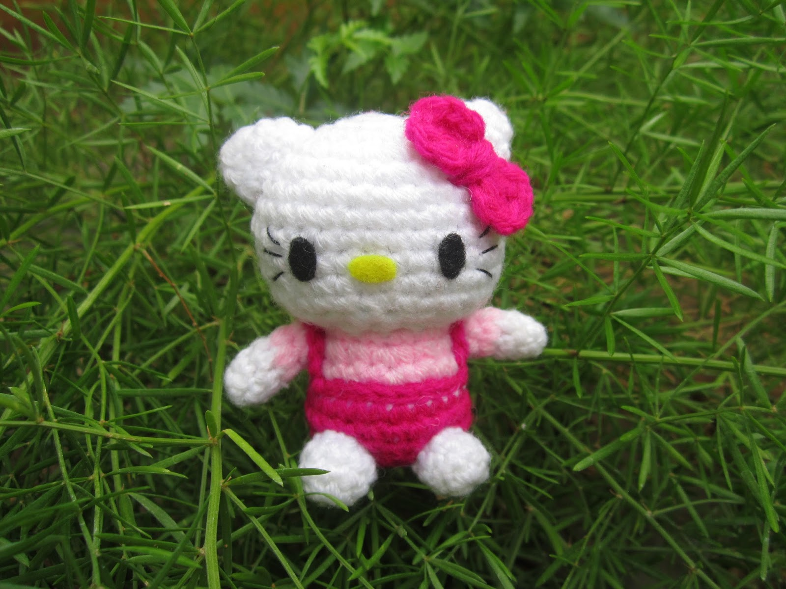 Hello Kittty Amigurumi Pattern A Little Love Everyday
