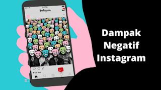 Dampak negatif Instagram