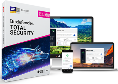 Bitdefender Total Security 2019 free for 180 Days