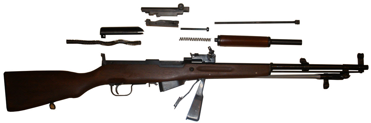 7,62-мм самозарядний карабін Симонова (СКС) будова