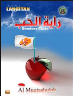 Gambar sampul Video klip Al Muqtashidah Album Bendera cinta (royatul Hub) sholawat langitan  terbaru