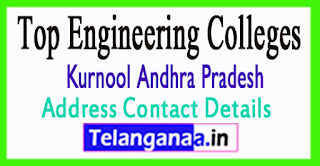 Engineering Colleges in Kurnool District Andhra Pradesh