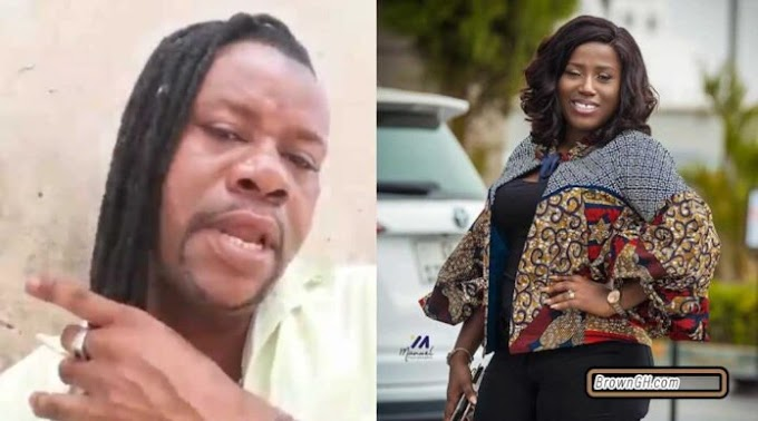Hilarious video of Nana Yeboah doing his own version of Diana Hamilton's 'Adom' song (WATCH VIDEO)