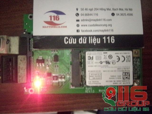 Cứu dữ liệu ổ MSATA bị hỏng ở Quảng Ninh