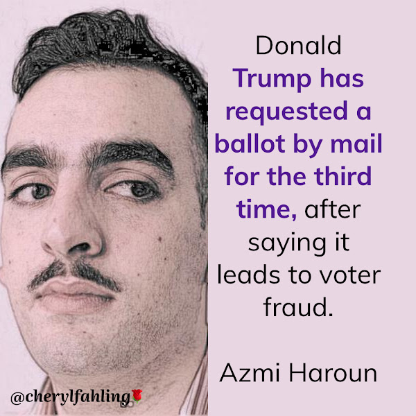 Donald Trump has requested a ballot by mail for the third time, after saying it leads to voter fraud. — Azmi Haroun, Business Insider Breaking News Fellow
