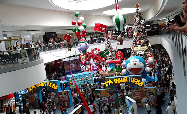Last November 19, 2017 was the last day of Doraemon PH Roadventure slash Celebration and it happened at the SM Mall of Asia Atrium.