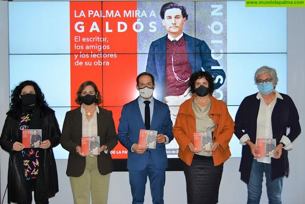 El Museo Insular inaugura la exposición 'La Palma mira a Galdós' en el centenario de su fallecimiento