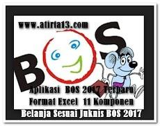 Aplikasi  BOS 2017 Terbaru Format Excel  11 Komponen Belanja Sesuai Juknis BOS 2017