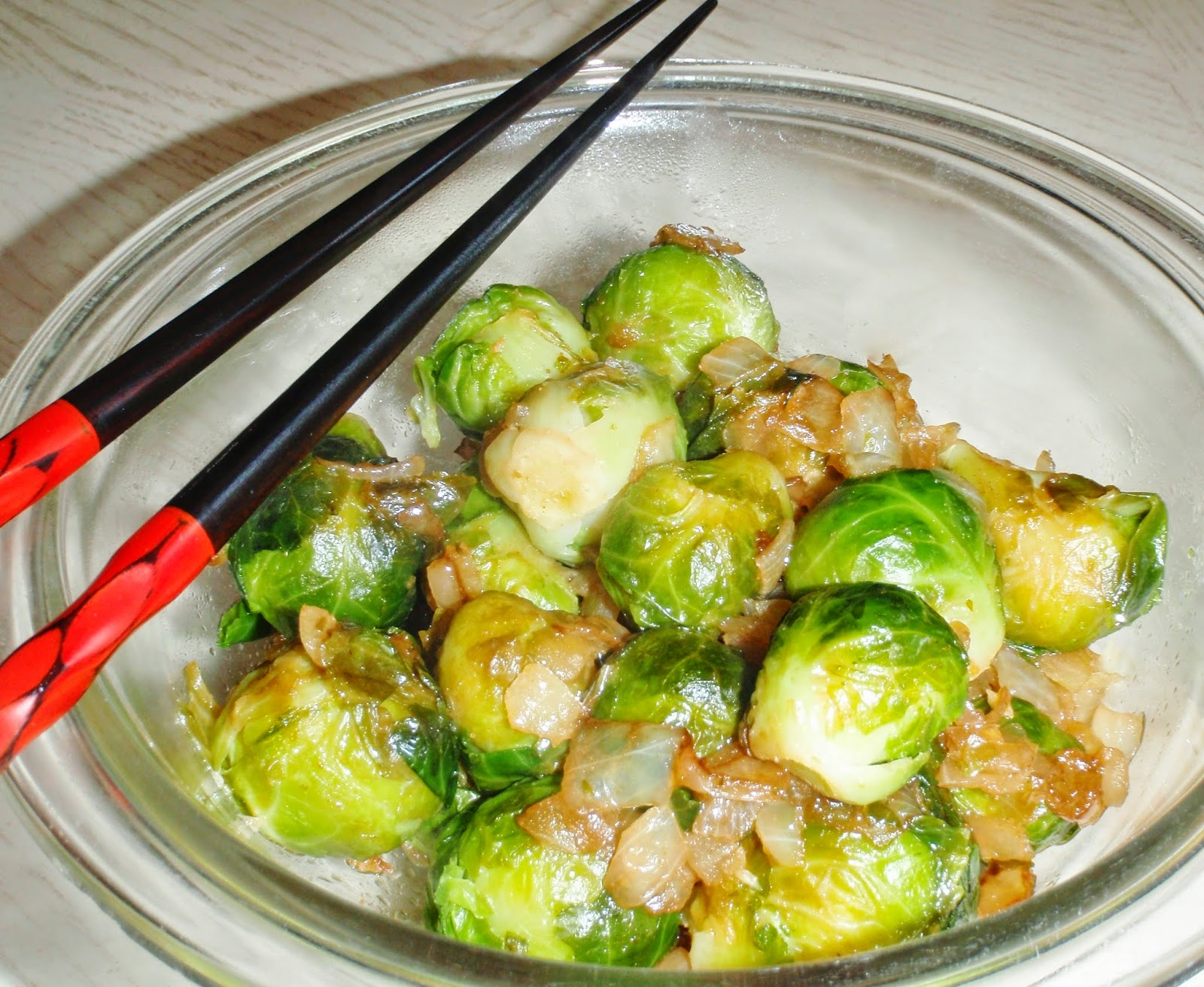 brussels sprouts asian style