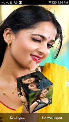 Anushak Shetty 3D live Wallpaper For Android Mobile Phone