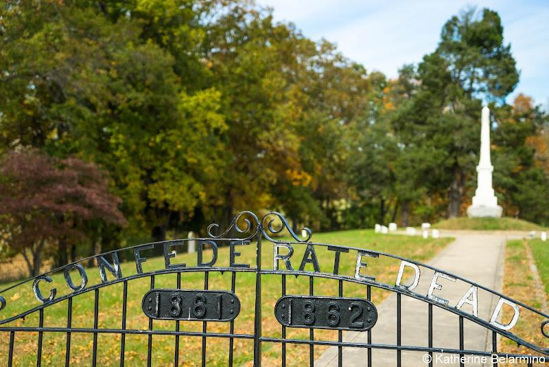 Groveton Confederate Cemetery Manassas National Battlefield Park Northern Virginia