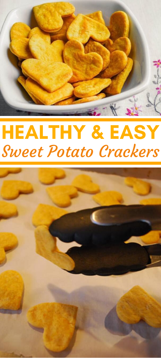 Sweet Potato Crackers #easy #healthy #snacks #kidfriendly #organic