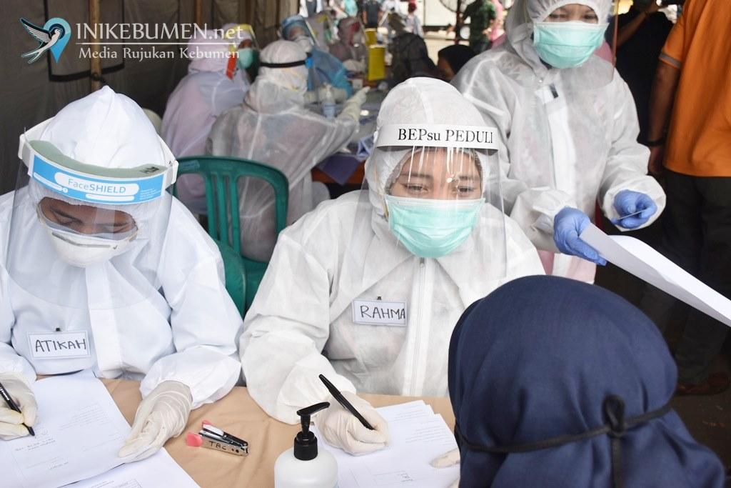 Rapid Test di Empat Pasar di Kebumen, 32 Orang Dinyatakan Reaktif Covid-19