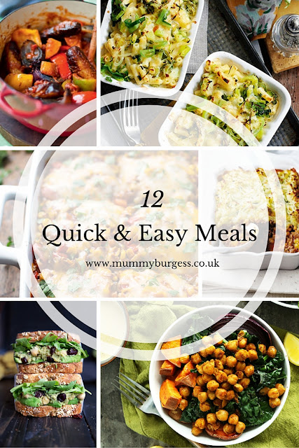 quick meals that take less than 30 mins