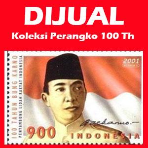 DIJUAL Koleksi Perangko 100 Thn Anniversary