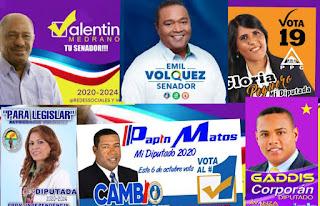 Candidatos de la provincia independencia 2020-2024