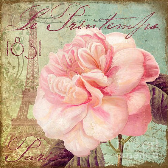 Imprimolandia l minas con rosas - Laminas decorativas vintage ...