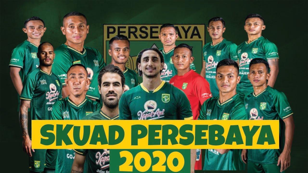 Jadwal Skuad Surabaya Persebaya 2020