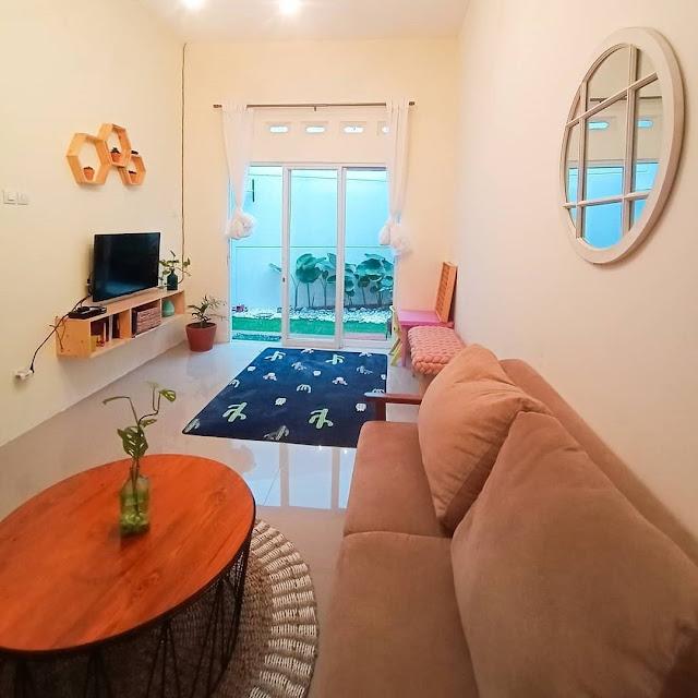 Desain Ruang Keluarga dan Ruang Tamu Jadi Satu