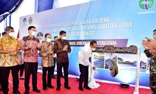 Gubernur Sumut Edy Rahmayadi Raih Penghargaan TOP Pembina BUMD Awards 2021