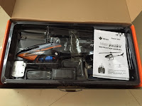 Wltoys V950 Brushless Rc Helicopter package