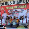 Koruptor Pamsimas Simeulue Ditangkap Polisi