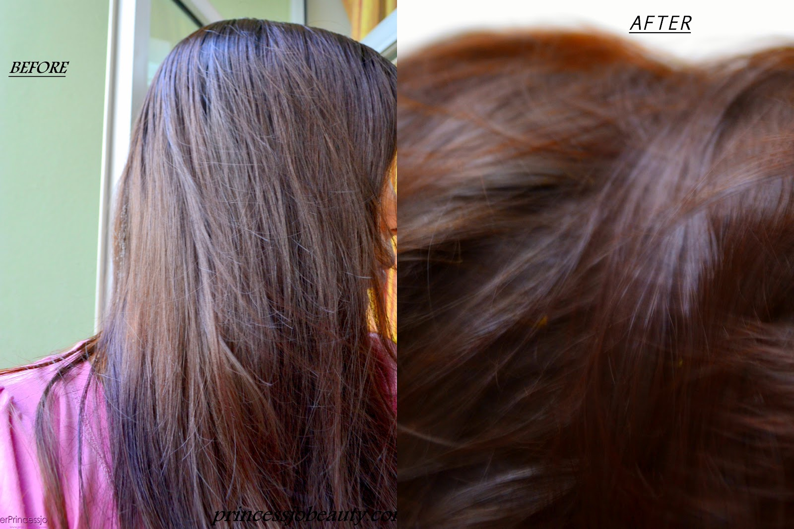 Chestnut Hair Henna Color