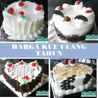 Harga Kue Ulang Tahun, Harga kue Ultah, Harga Roti Ulang Tahun, Harga Kue Ulang Tahun murah