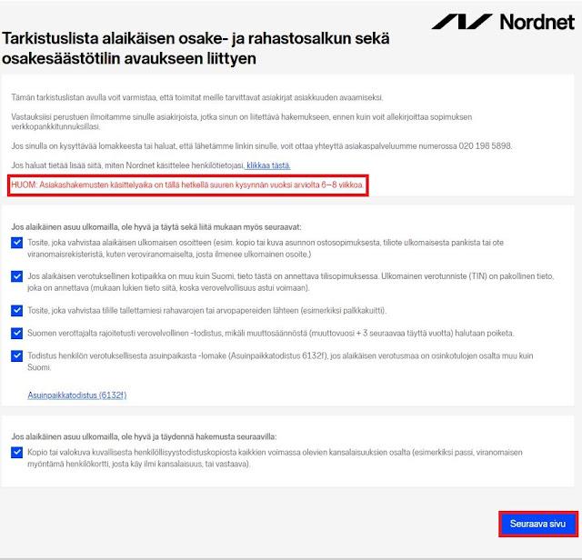 Kuukausisäästäminen Nordnetin Indeksirahastoon 3