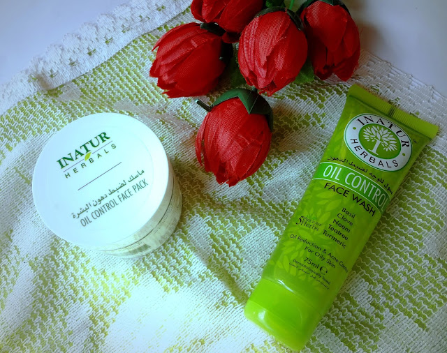 Inatur Herbal Oil Control Face Wash and Face Mask