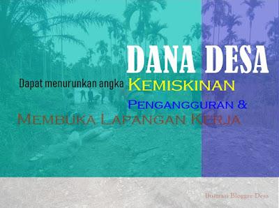 Data Bank Dunia kemiskinan di desa-desa di Indonesia masih menjadi fenomena