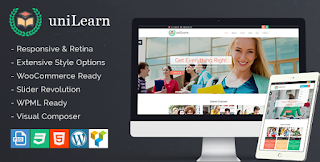 UniLearn Education WordPress Theme