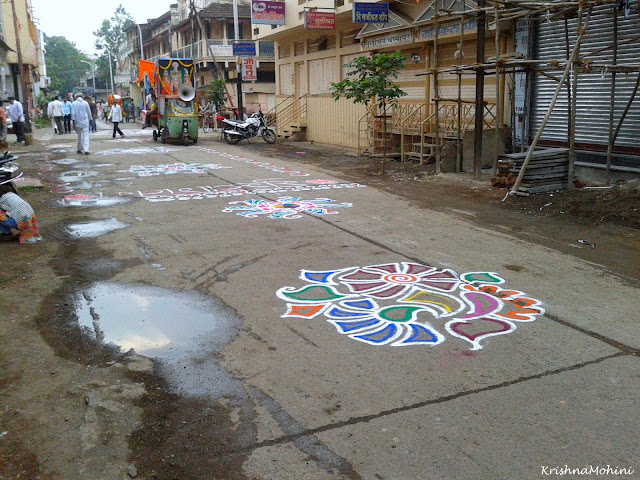 Image: Rangolis to welcome Balaji