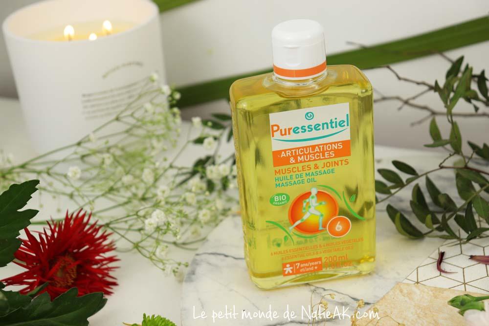 Puressentiel effort musculaire huile de massage
