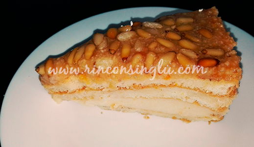 tarta de piñones sin gluten en sanlucar de barrameda