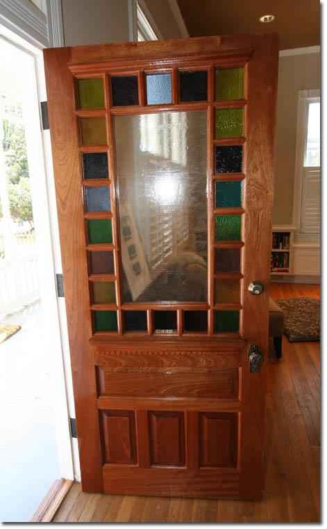 Eclectic Victorian Our Front Door Sneak Peek