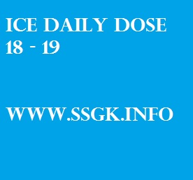 ICE DAILY DOSE 18 - 19