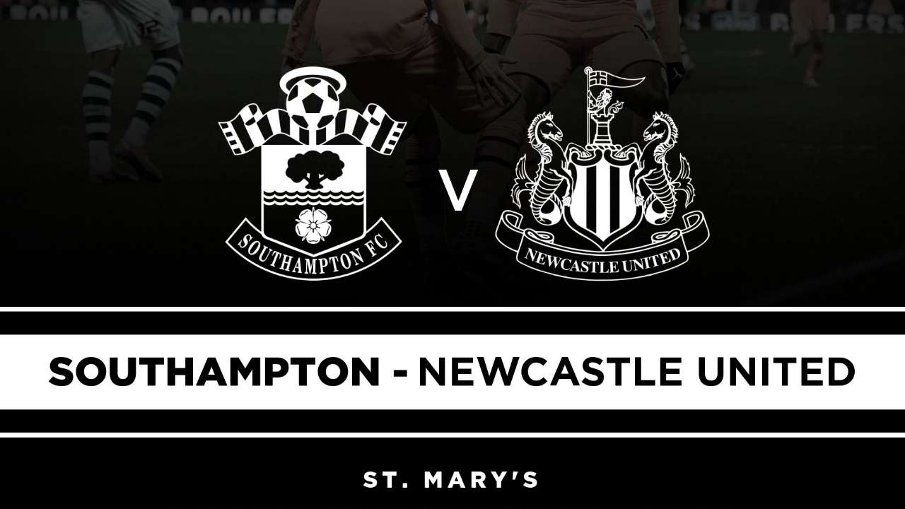 Southampton - Newcastle United English Premier League