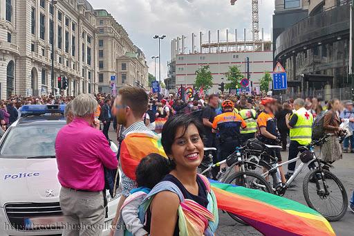 Brussels Pride March LGBTQ