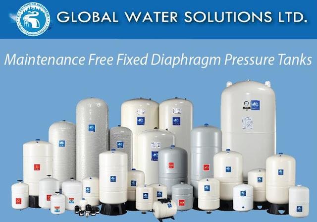 Pressure Tank GWS 200 Liter