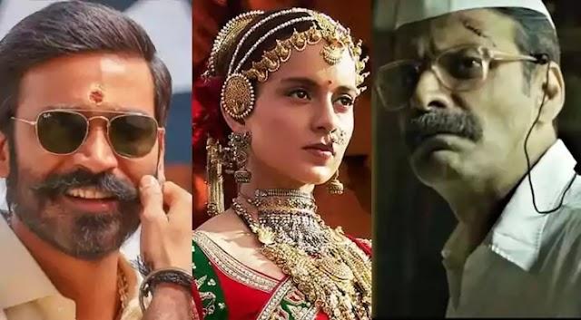 67th National Film Awards: best actress Kangana Ranaut, best actors Dhanush and Manoj Bajpayee